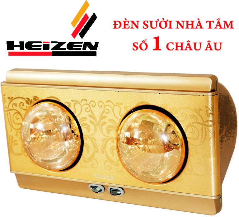Đèn sưởi nhà tắm Heizen hai bóng HE-2B