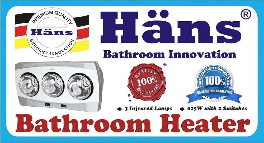 Vỏ hộp đèn sưởi nhà tắm H3B