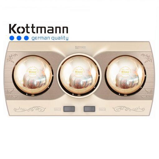 Đèn sưởi nhà tắm 3 bóng K3B-Q